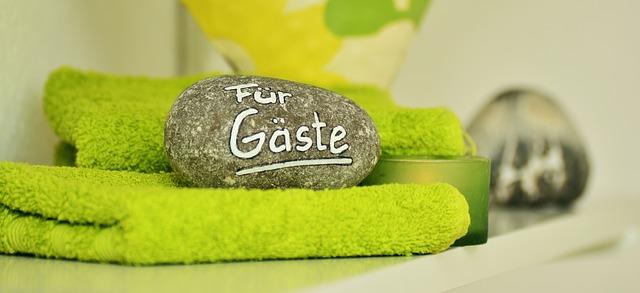 zelené ručníky